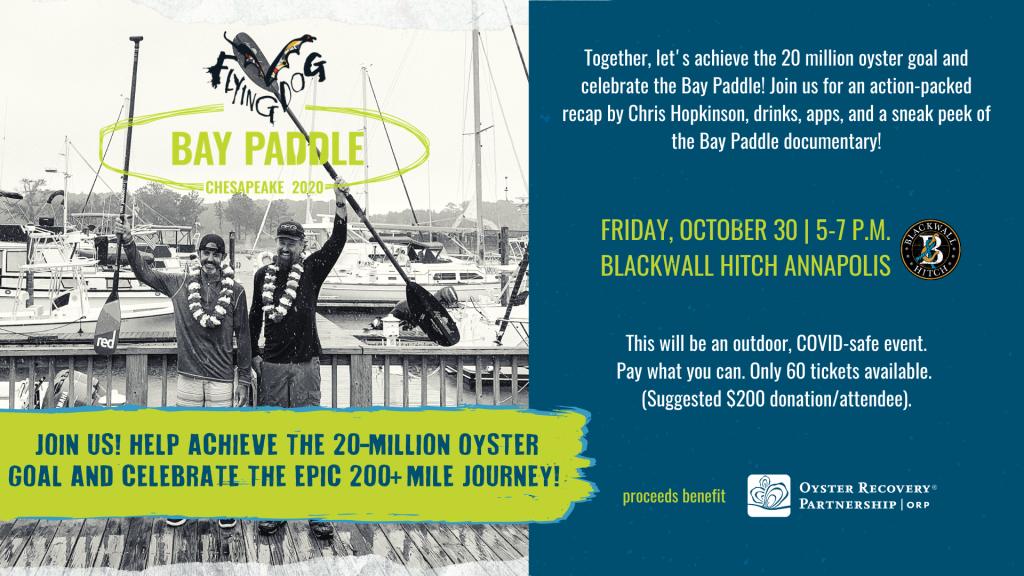 Bay Paddle Celebration Event Header