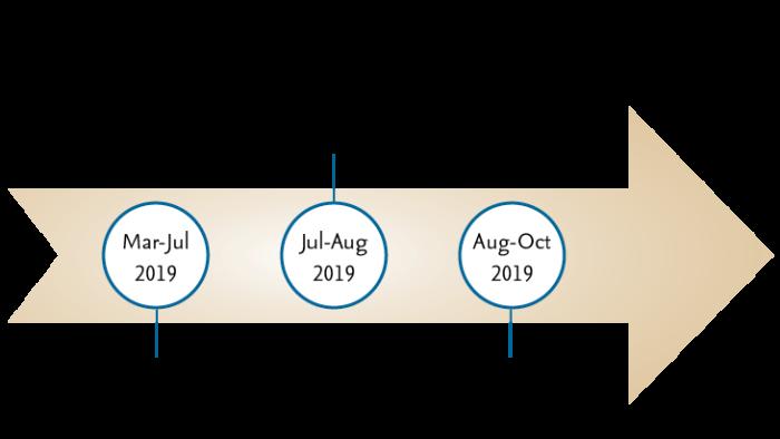 bmp timeline Jun 2019