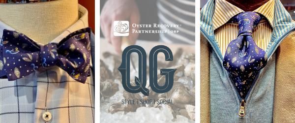 Oyster Neckwear QG ORP Logos