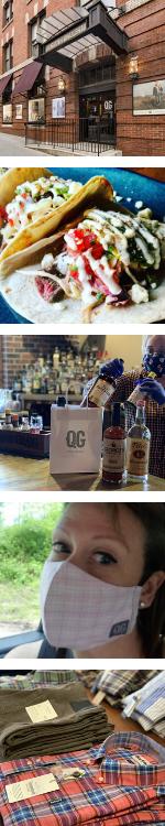 QG Blog - Storefront, Carry-out, Liquor, Masks, Spring Shirting