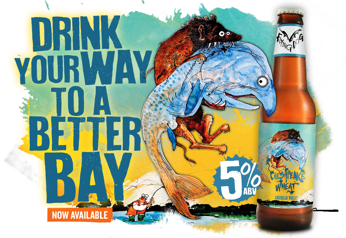 Flying Dog Welcomes Marylanders to Drink Our Way to a Better Bay