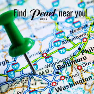 Maryland Road Map - Find Pearl Vodka near you